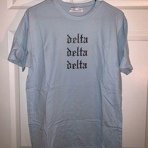 Tri Delta tshirt